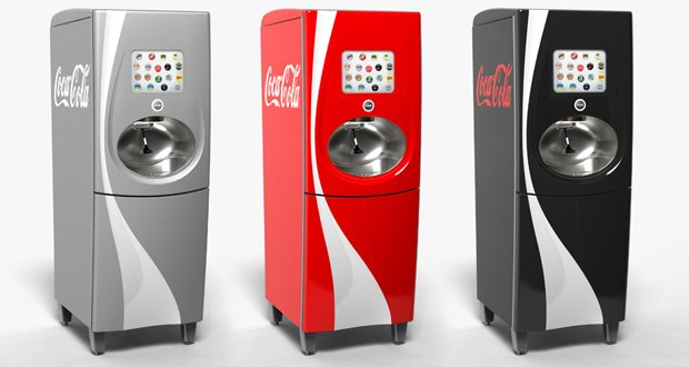 Coca-cola Freestyle beverage dispensing machine